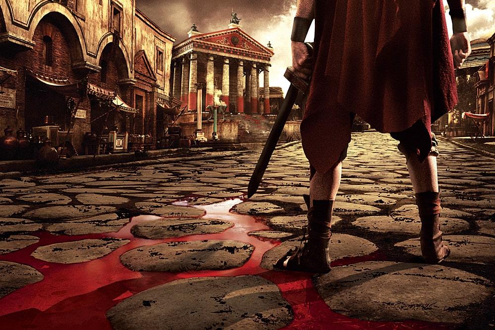 «Рим» сериал смотреть кровь
