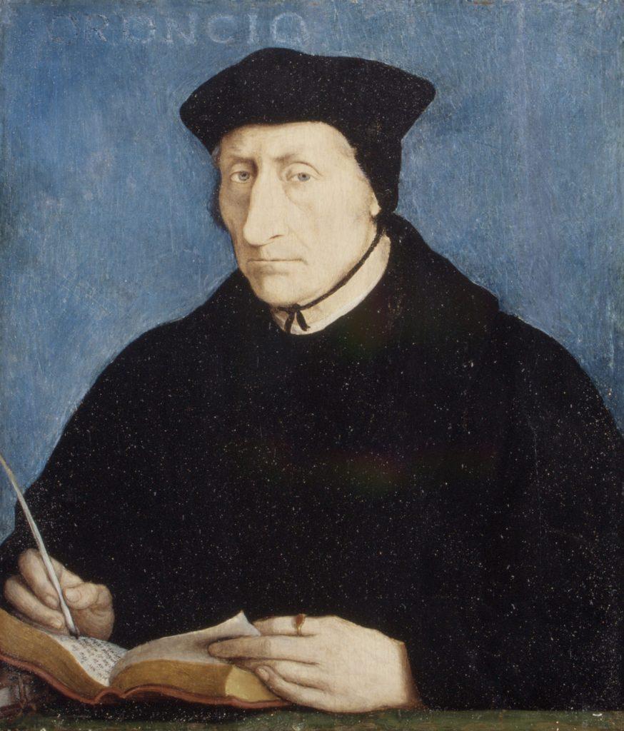ЖАН КЛУЭ, «ПОРТРЕТ ГИЙОМА БЮДЕ», 1536 ГОД