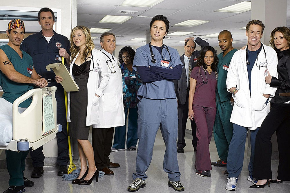 клиника персонажи смотреть сериал