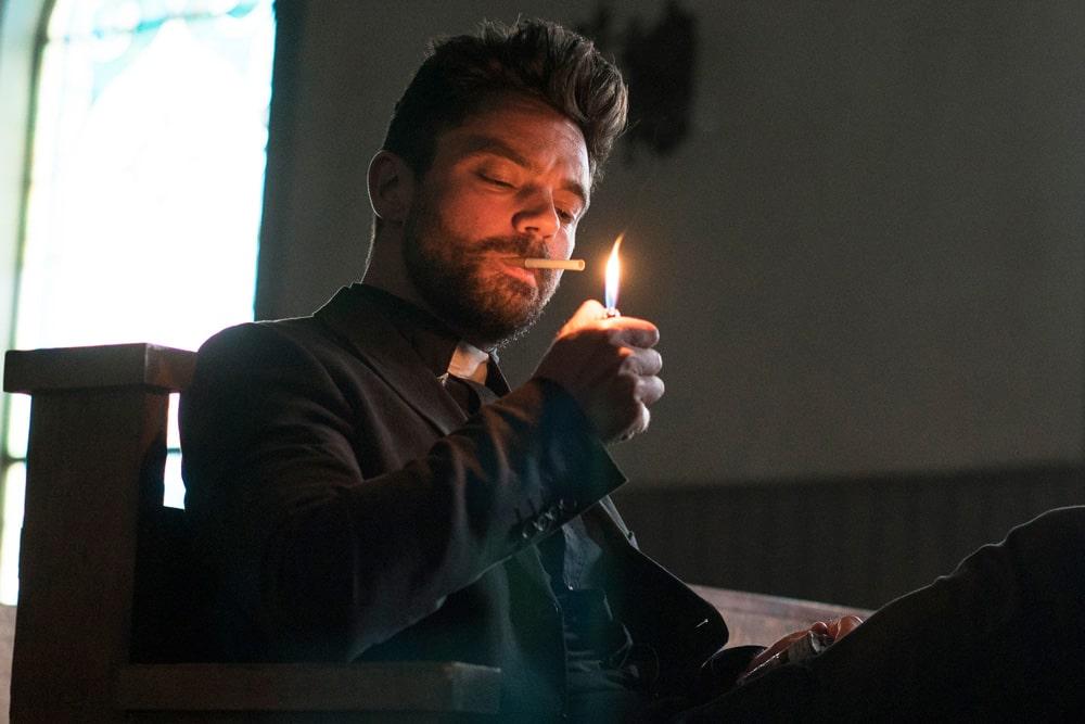 Главный герой сериала проповедник амедиа