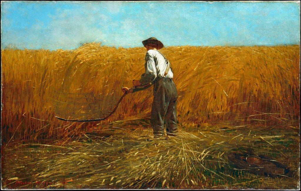 УИНСЛОУ ХОМЕР, «ВЕТЕРАН НА НОВОМ ПОЛЕ», 1865-1867 ГОДЫ