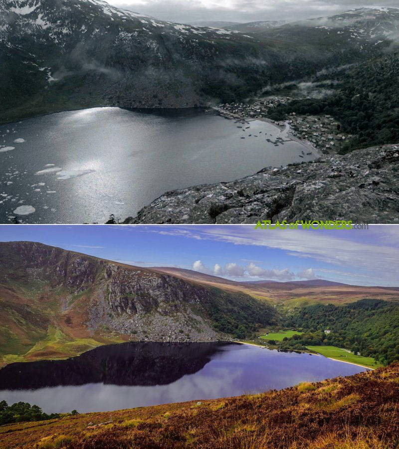 где снимали ирландия викингов
