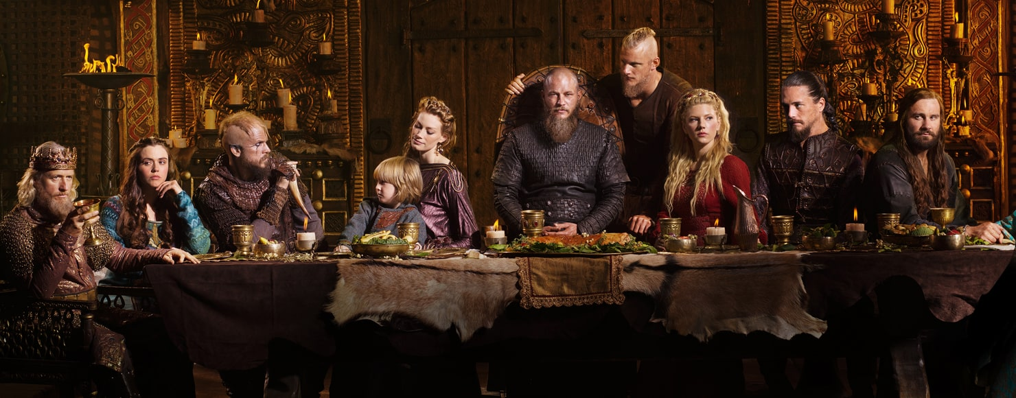 Vikings смотреть онлайн викингов